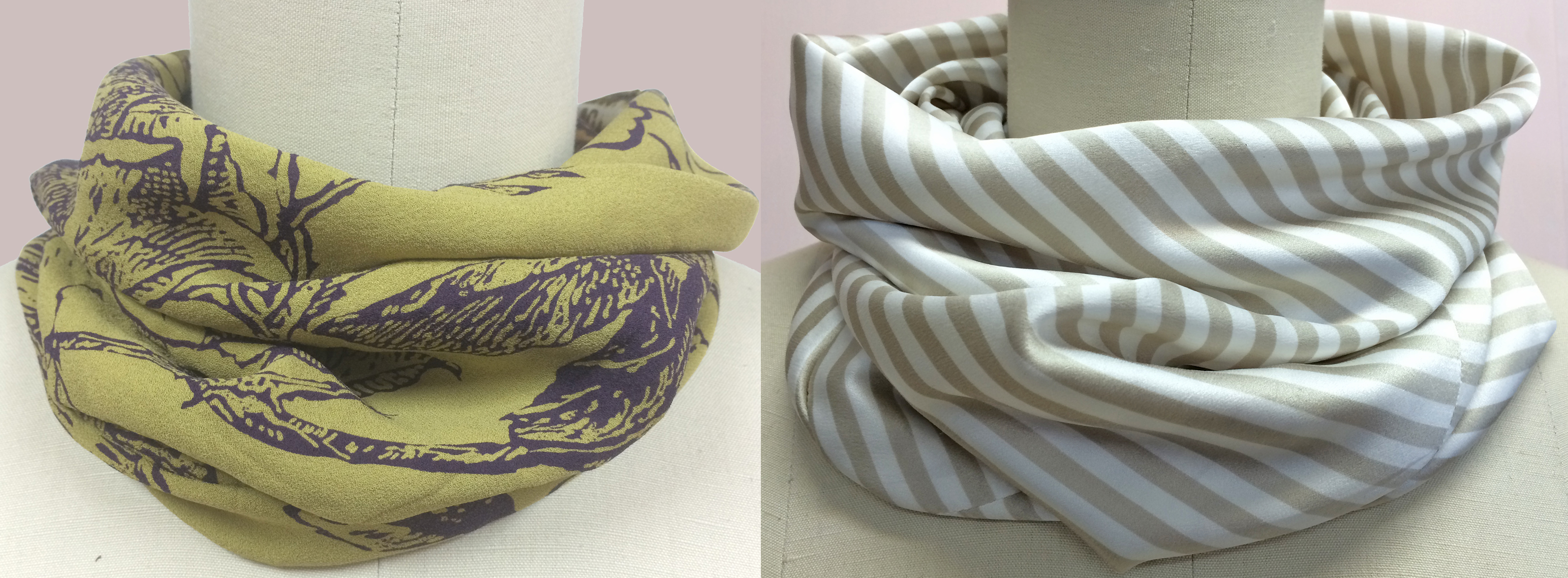 bias tube scarves