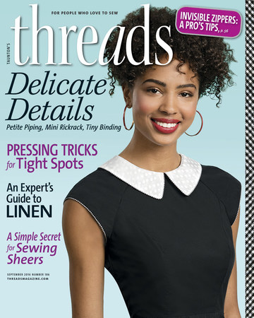 Threads Magazine Cover, Issue 186